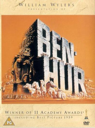 Ben-Hur-1959-Charlton-Heston-Action-Adventure-Video-Movie-DVD-UK-PAL-Region-2