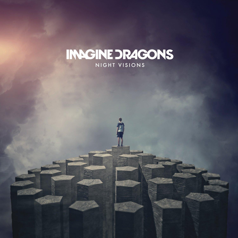 IMAGINE DRAGONS NIGHT VISIONS LP VINYL 33RPM NEU